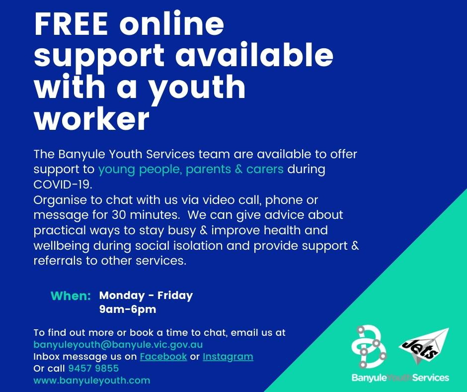 Support with a youth worker