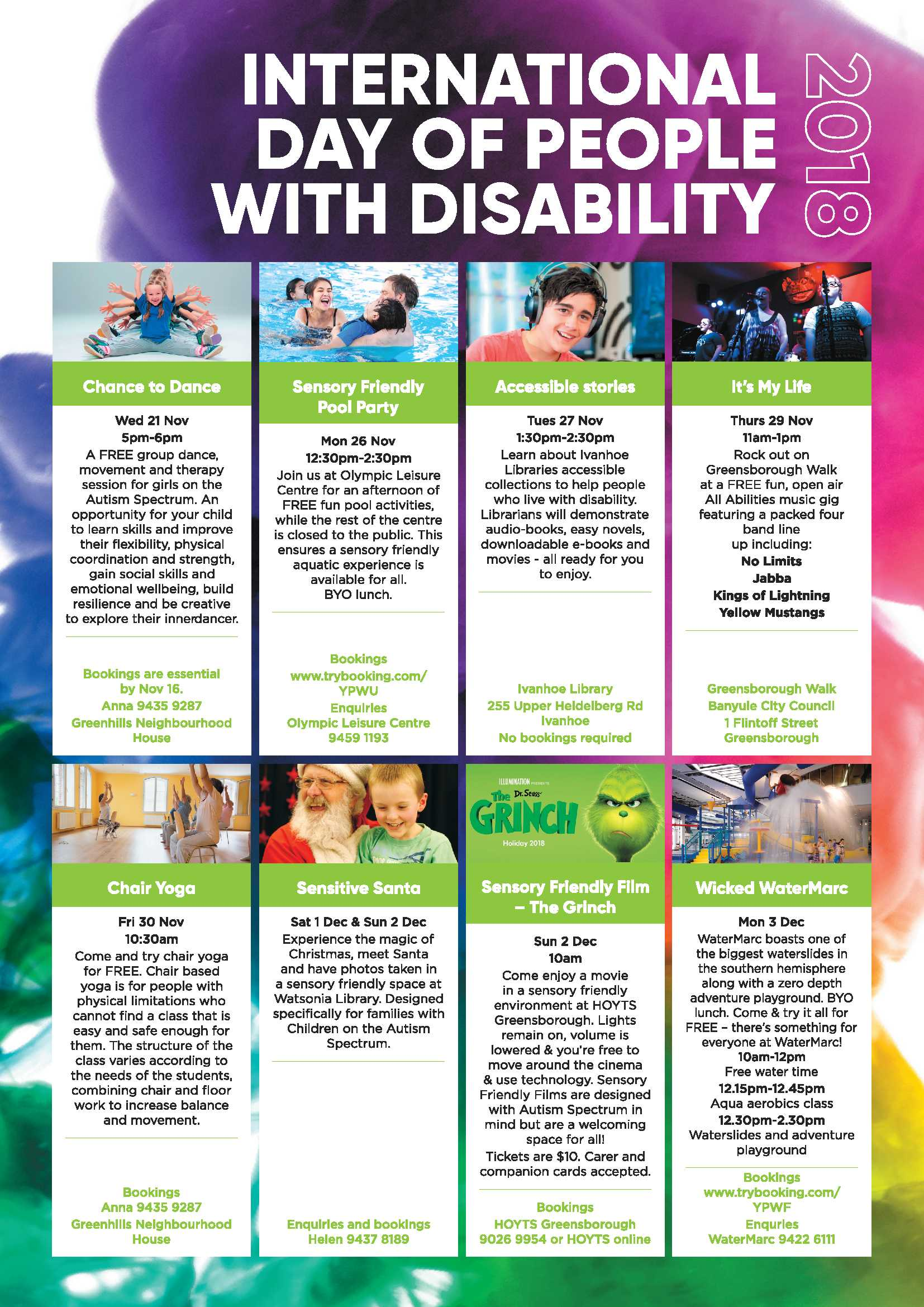 International Day for People with Disability Flyer