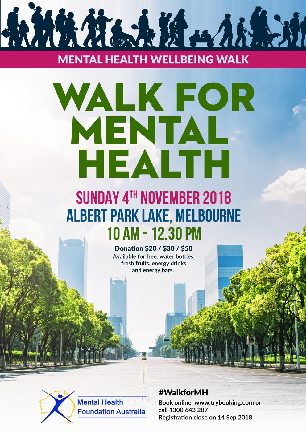 Walk to Mental Health