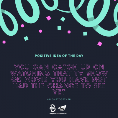 Positive Idea of the Day