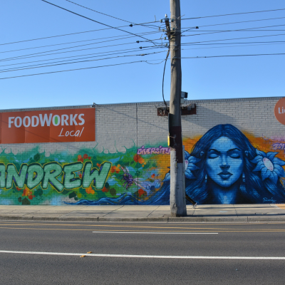 Andrew Place Mural 1